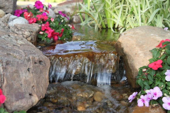 pond or waterfeature leaking